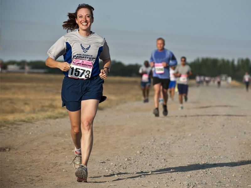 sports massage runner
