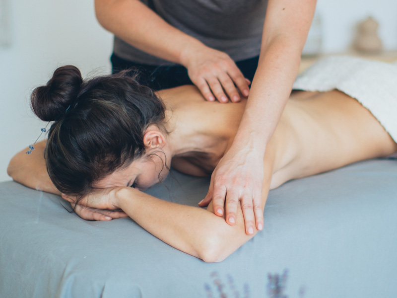 massage for stress